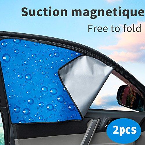 Sombra de ventana delantera de ventana de coche parabrisas de coche de doble espesor parabrisas de ajuste universal para protección UV para bebé