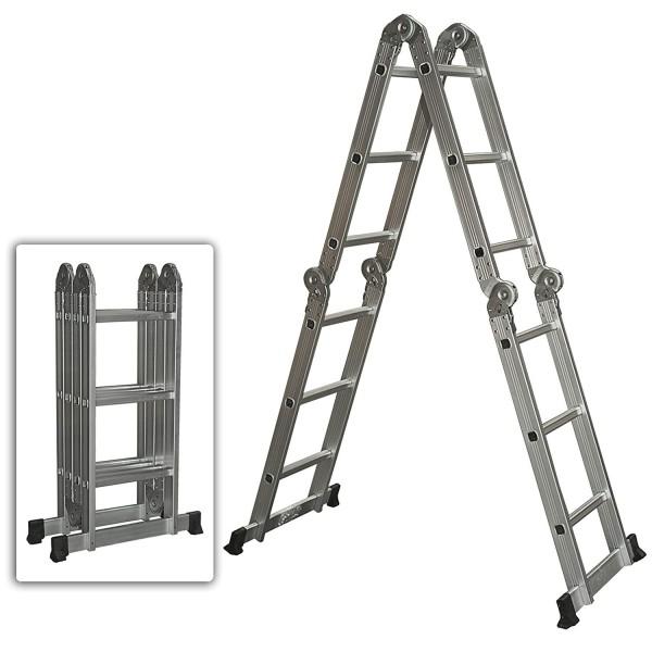 11. Escalera de aluminio multiusos Productos de la mejor elección