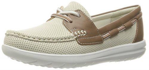 CLARKS Zapatos con plataforma Jocolin Vista Náutico para mujer