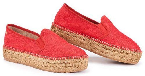 VISCATA Flatform Line Flatform, auténticos y originales zapatos alpargatas con plataforma de fabricación española