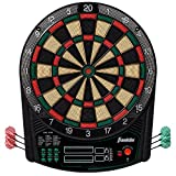 Juego de dardos electrónicos Franklin Sports - Tablero de dardos digital con marcador - Tamaño oficial 15.5 '- Tablero de dardos de punta blanda segura - FS6000