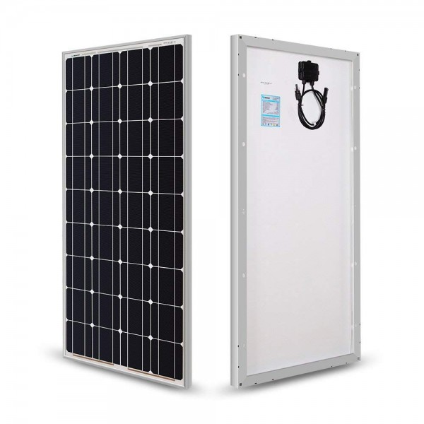 Paneles solares de 100 vatios