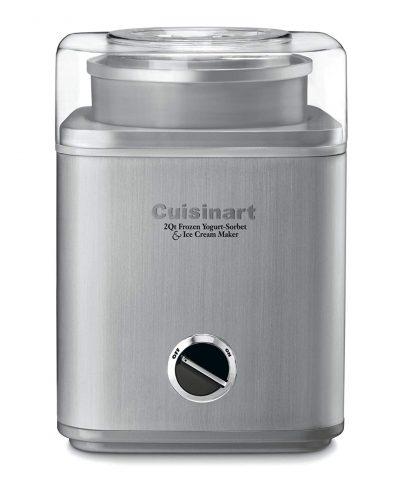 Cuisinart ICE-30BC Pure Indulgence 2 cuartos de yogur helado automático