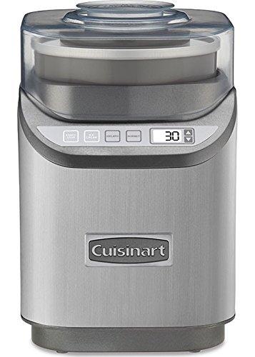 Heladera electrónica Cuisinart ICE-70, cromo cepillado