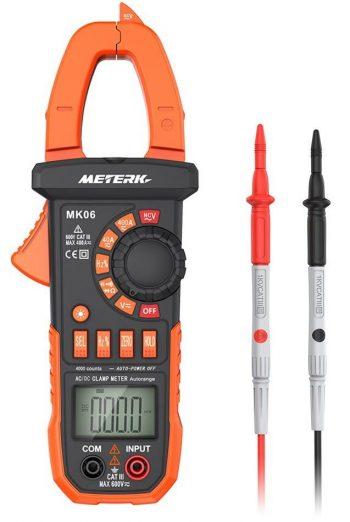 Pinza amperimétrica digital Cuenta de multímetro de rango automático de 4000 metros