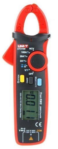Uni-T B4Q094 UT210E True RMS AC / DC Mini probador de capacitancia de pinza de corriente M.