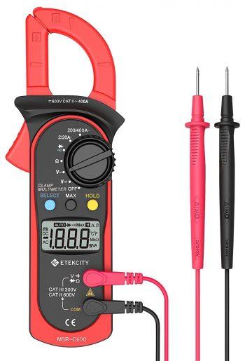 Pinza amperimétrica Etekcity Pinza amperimétrica digital MSR-C600