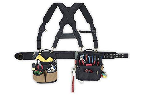 CLC Custom Leathercraft 1608 Bolsas de herramientas eléctricas Cinturón de electricista-Consolador de electricista