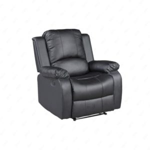 sofá de cuero remodelado