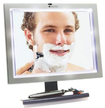 Espejos de ducha LED Productos ToiletTree con escobilla de goma
