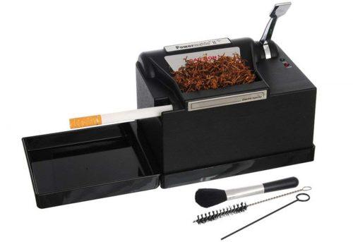 Inyector de cigarrillos eléctrico Powermatic que trabaja a máquina 2 Grupo eléctrico