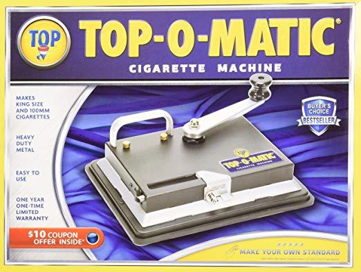 Nueva máquina de liar cigarrillos Top-O-Matic