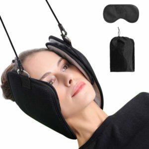 Dispositivo de tracción cervical con cabeza de hamaca