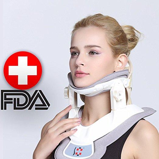 Dispositivo de tracción del cuello de tracción del cuello cervical