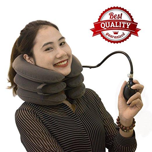 Dispositivo de tracción del cuello cervical con SAULLA