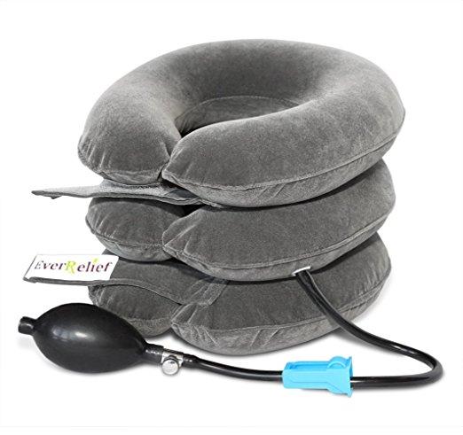 Dispositivo de tracción de cuello cervical EverRelief® registrado por la FDA