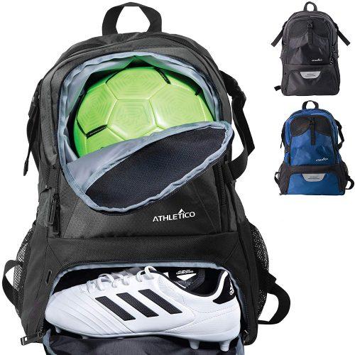 Athletico National Soccer Bag - Mochila para fútbol