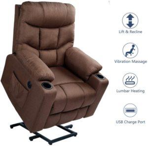sillón reclinable ergonómico