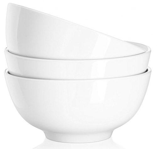 Tazones de sopa de porcelana DOWAN de 29 onzas