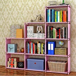 estantes de libros