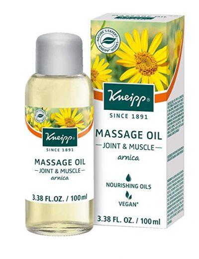 Aceite de masaje Kneipp, árnica, articulaciones y músculos