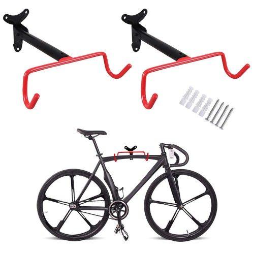 PHUNAYA Bike Hanger 2pcs Gancho para bicicleta de montaje en pared