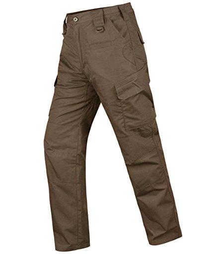 Pantalones tácticos impermeables para hombre HARD LAND Pantalones cargo de trabajo antidesgarros