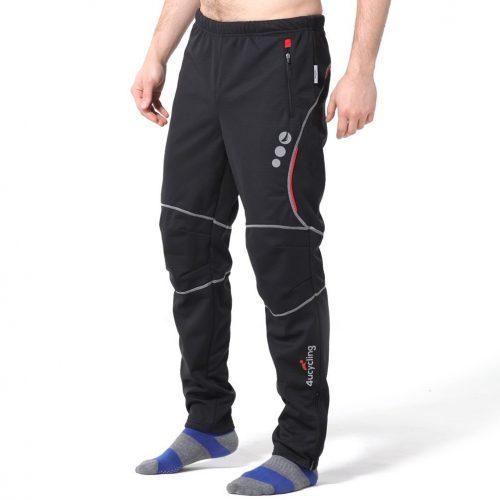 Pantalones deportivos a prueba de viento de 4ucycling para deportes al aire libre y multideportivos