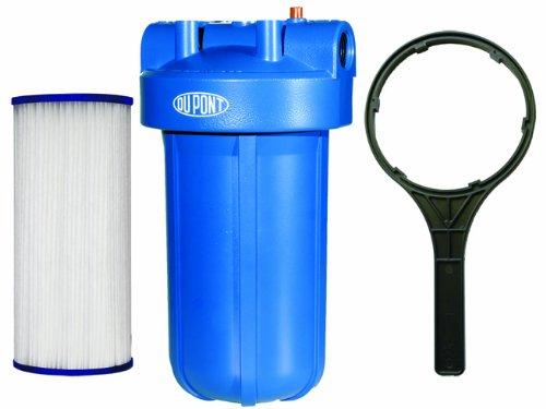 DuPont WFHD13001B Sistema universal de filtración de agua de servicio pesado para toda la casa