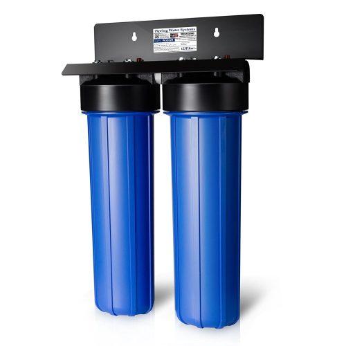 iSpring WGB22B Sistema de filtración de agua de 2 etapas para toda la casa-Filtros de agua para toda la casa