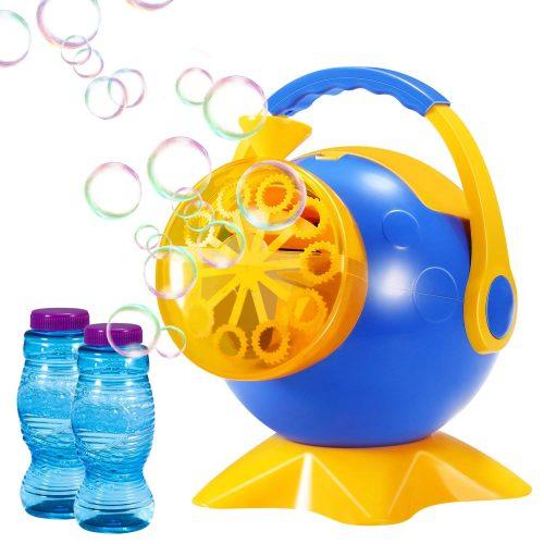 Máquina de la burbuja, fabricante durable de la burbuja del soplador automático de la burbuja de Geekper