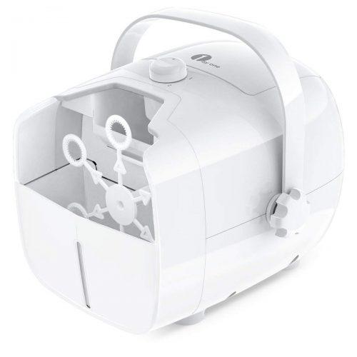 Máquina de burbujas portátil, soplador de burbujas automático 1byone para máquinas de burbujas para niños