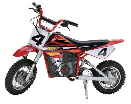 minimoto eléctrica de motocross Razor MX500 Dirt Rocket