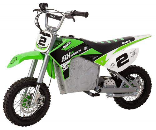 minimoto eléctrica de motocross Razor SX500 Mcgrath Dirt Rocket