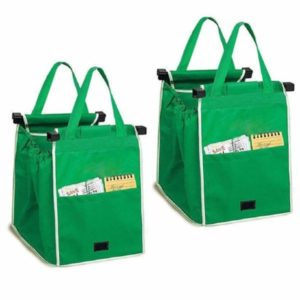 bolsas de comestibles verdes