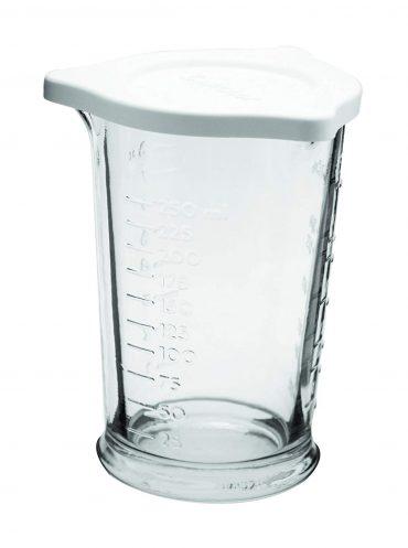 Anchor Hocking jarra medidora de triple vertido de 8 onzas