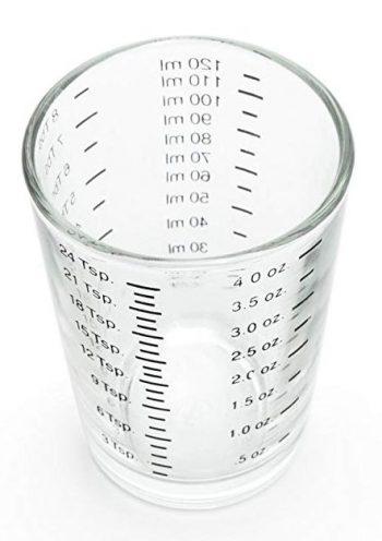 Fox Run 4892 Mini vaso de medición, 4 onzas
