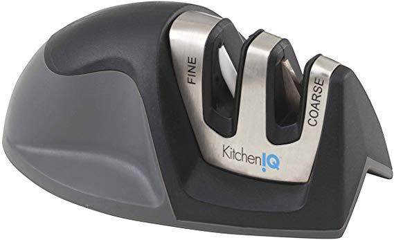 5. KitchenIQ 50009 2Stage Edge Grip Afilador de cuchillos eléctrico