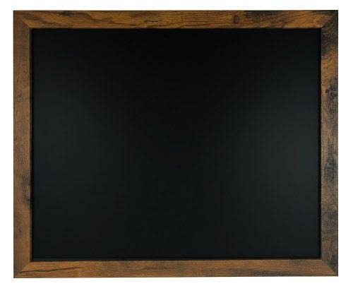 Tablero de tiza magnética de superficie premium de madera rústica