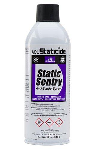 ACL Staticide 2006 Static Sentry, spray, 12 oz, blanco