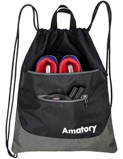 mochila de cuerdas, deportes, gimnasio, impermeable, bolsa de cuerda, cinch, saco, mochila, gymsack