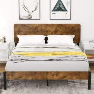 plataforma de cama de madera
