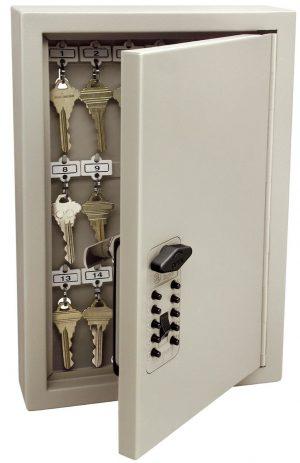 Kidde AccessPoint 001795 Combinación de armario con llave de entrada TouchPoint, arcilla, 30 llaves