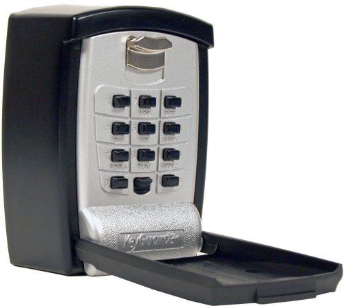 KeyGuard SL-590 Botón perforador Almacenamiento de llaves Caja de bloqueo de montaje en pared