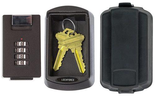 Caja de bloqueo con llave Lockforce