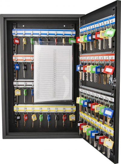 Barska Caja con cerradura con llave de 64 posiciones con cerradura con llave-Cajas con cerradura con llave