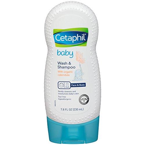Cetaphil Baby Wash y champú con caléndula orgánica