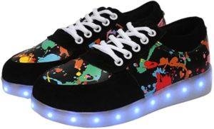 zapatillas con luces