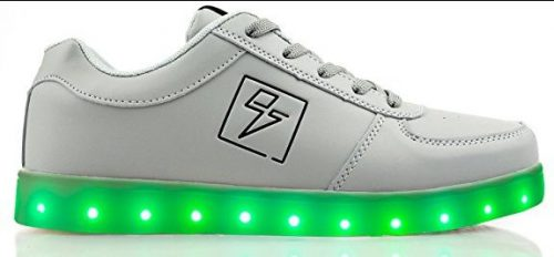 Zapatos Electric Styles Light Up - Bolt Low Top