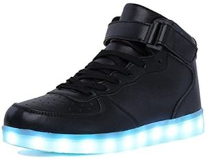 iluminar las zapatillas